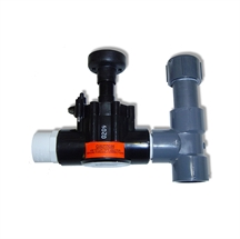 "Picture of 1"" Diaphragm Valve With Pipe"